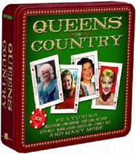 PATSY CLINE/DOLLY PARTON/+ - QUEENS OF COUNTRY (LIMITED METALBOX ED.) 3 CD NEU