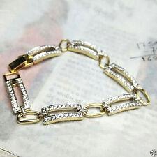 Beautifully Designed Mens Diamond Bracelet 10K