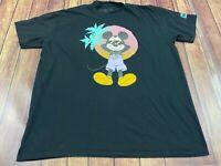 Disney x Neff Mickey Mouse Men's Black T-Shirt - 2XL