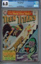 CGC 6.0 TEEN TITANS #1 1ST SERIES 1966 WONDER GIRL BEAST BOY ROBIN KID FLASH