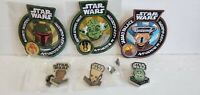 Funko Star Wars Smugglers Bounty Exclusive Patch and Pin lot 3 Patches 3 Pins