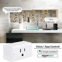 WiFi Smart Plug Smart Switch Outlet Fit For Amazon Alexa IFTTT Google Assistant