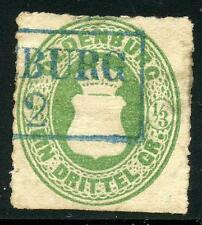 GERMANY STATES OLDENBURG SCOTT# 16 MICHEL# 15A USED AS SHOWN