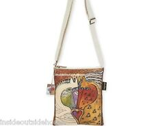Laurel Burch Mythical Love Horses Heart Medium Small CrossBody Tote Bag Retired