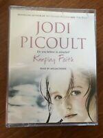Jodi Picoult - Keeping Faith Audiobook Cassette - VGC