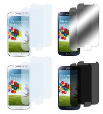 8 x Samsung Galaxy S4 Klar + Matt + Spiegel + Privacy Displayschutzfolie Folie