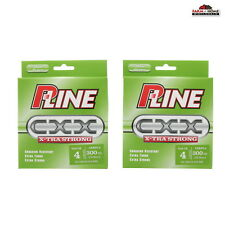 (2) P-Line CXX Xtra Strong Copolymer Fishing Line 4lb x 300yds ~ NEW