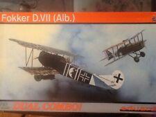 Dual Combo 2 kits! 1/48 scale Fokker D.VII (Albatros), Profipack; 8134; 2005