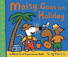 LUCY COUSINS __ MAISY GOES OH HOLIDAY ___ BRAND NEW ___ FREEPOST UK