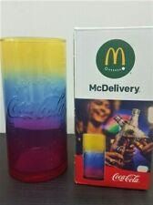 McDonalds Coca Cola Glas 2019 Regenbogen Glas NEU & OVP