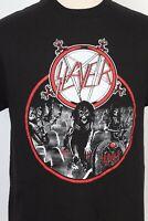 Vintage 2000s SLAYER REIGN IN BLOOD Metal Concert Rock T-Shirt DS Mens Large