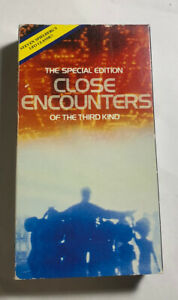 Close Encounters Of The Third Kind HGV 1989 VHS Cassette Movie Video Tested