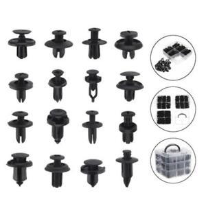 620Pcs 16Type Bumper Fastener Clip Trim Panel Install Push Pin Rivet Car Truck