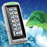 Stainless Steel Metal Case waterproof EM ID Pin Keypad Standalone Access Control