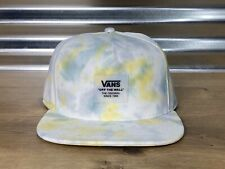 Vans Mens Tie Dye Snapback Hat Cap White Yellow Green ( VN0A45ESTIE ) NEW!!