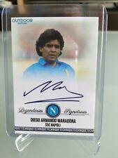 Custom Card Technique 2020 Diego Armando Mardona Autograph SSC Napoli