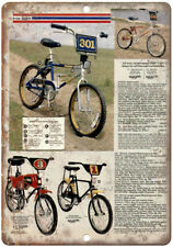 "Free Spirit Sears BMX Vintage Ad 10"" x 7"" Reproduction Metal Sign B287"