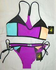 858f384616 NWT Body Glove Swimsuit Bikini Alani top & Brasilia tie hip Sz M Magnolia