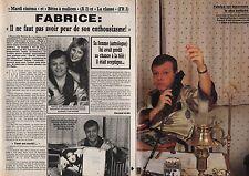 Coupure de presse Clipping 1988 Fabrice de RTL A2 la classe  (2 pages)