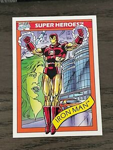 1990 Marvel Comics Impel Iron Man #42