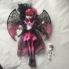 Muñeca Monster High Ghouls Rule Draculaura Desmontable Alas Rosa + Negro-retirado