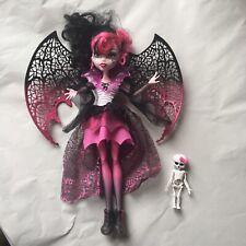 Muñeca Monster High Ghouls Rule Draculaura Desmontable Alas Rosa + Negro-retirado