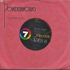 "Ves 8 - Radio Love, produced by Peter Dawkins - rare 1980 Aussie 7"" single 45rpm"