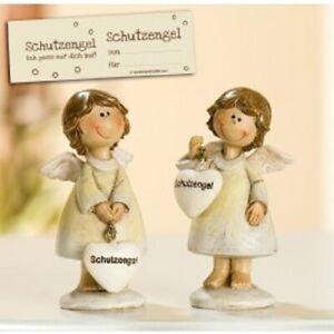 Gilde Schutzengel Mutmacher Engel mit Herz Lena verschiedene Modelle 8,0 cm