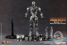 1/6 Movie Masterpiece Iron Man 2 Mark ll Armor Unleashed Version Hot Toys Figure