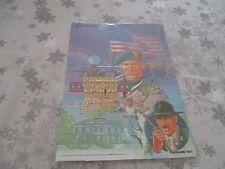 >> COMBAT SCHOOL KONAMI ARCADE RARE ORIGINAL JAPAN HANDBILL FLYER CHIRASHI! <<