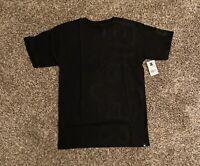 DC Shoes Mens Graphic T-Shirt Small Black Ken Block Logo Spell Out Blocker NWT