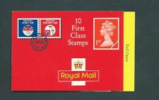 Hd7 Type 7(1), Cyl: W9 W8 (W10(W  sliced)), Olympics, Walsall, Barcode Booklet