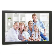 "15"" HD Digital Photo Frame Album Picture MP4 Movie Player Remote Control"