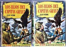 Col. HISTORIAS nº  47: LOS HIJOS DEL CAPITÁN GRANT. Bruguera, 2ª ed 1959.