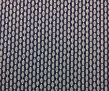 "BALLARD DESIGN BRIA BLUE IVORY IKAT MULTIPURPOSE DRAPERY FABRIC 2.25 YARDS 56"" W"