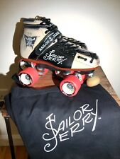 ** ONE OF A KIND ** RARE  Riedell Torch 495 Roller Derby Skates