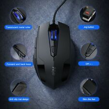 USB Wired Gaming Mouse LED Optical Professional Gamer Mouse for Computer