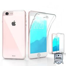 For iPhone 7 Tri Max Scratch Resistant 360 Full Body Wrap Screen protector Case