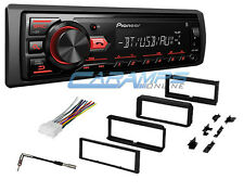 NEW PIONEER CAR STEREO RADIO WITH BLUETOOTH & DIGITAL MEDIA & DASH INSTALL KIT