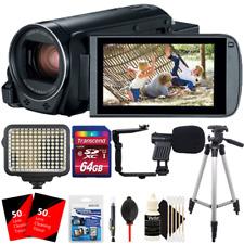 Canon Vixia HF R800 1080p HD Video Camera Camcorder with Accessory Kit