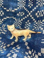 Antique Old Made In USA Kitty Cat Figurine Toy