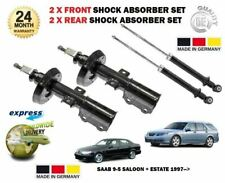 FOR SAAB 9-5 95 1997->ON NEW 2x FRONT + 2 X REAR SHOCK ABSORBER 4 SHOCKER SET