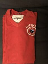 Para hombre Abercrombie and Fitch Músculo Camiseta Talla Grande