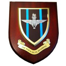 Parachute Regiment Wall Plaque UK Hand Made for MOD Regimental Military