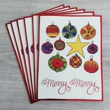 6 Andy Warhol Ornaments Xmas Holiday Cards