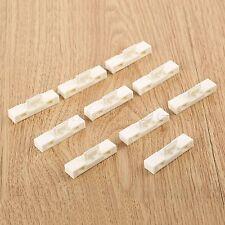 10pcs NUOVO LAVARE IN PLASTICA BIANCA STAND Accessori Casa delle Bambole Miniature Scala 1:50