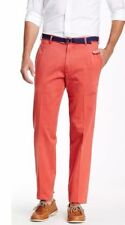 NEW Peter Millar Men's Sport Red Pants MC0B84 100% Pima Cotton $125 Sz. 32 x 35