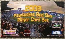 Pawtucket Red Sox 2009 Dunkin' Donuts Card Set