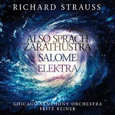 CD Strauss Also Sprach Zarathustra,Salom,Elektra 2001 Odyssee im Weltraum 2CDs