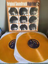 High Fidelity Soundtrack Orange Vinyl Lp Rsd Oop Numbered John Cusack Jack Black